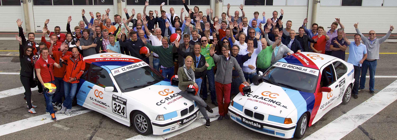 17 juni 2014. Sfeerfoto van de Rabobank Schretlen incentive dag op het circuit van Zandvoort. fotograaf Chris Schotanus