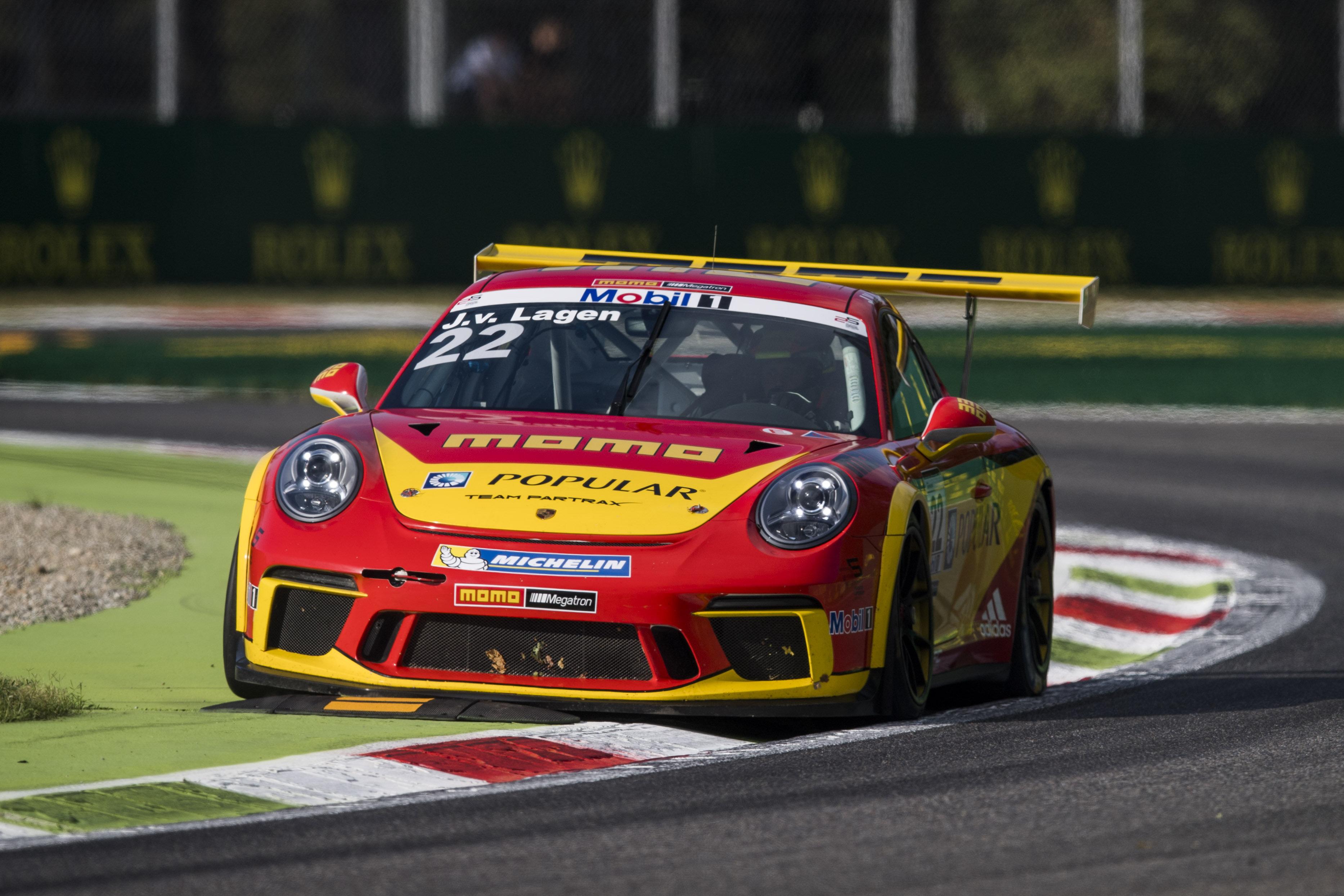 Porsche Mobil 1 Supercup Monza 2017 #22 Jaap Van Lagen (NLD, MOMO-Megatron Team Partrax)
